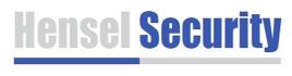 Hensel Security Logo