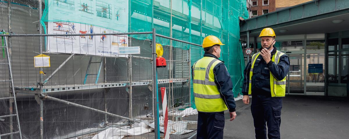 Baustellenbewachung Kassel Security