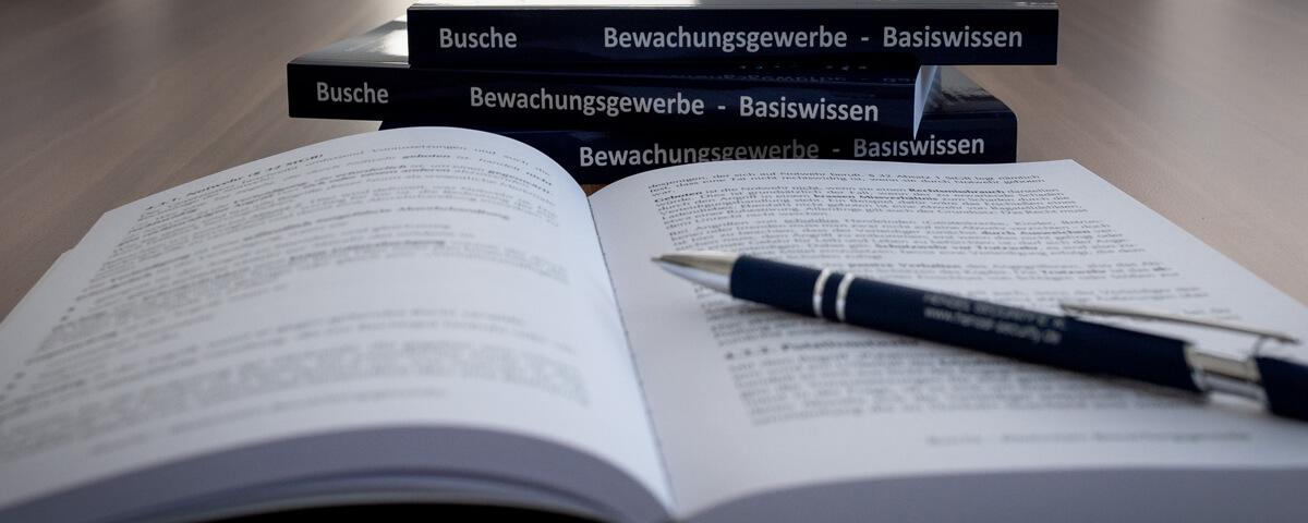 Security Vorbereitung auf die Sachkundeprüfung §34a GewO