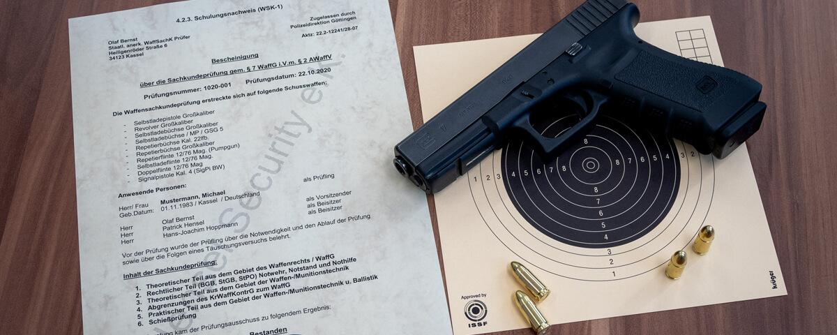 Waffensachkunde §7 WaffG